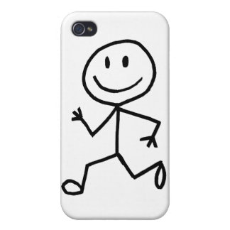 Stickman Runner iPhone 4/4S Cover