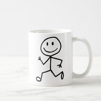 Stickman Runner Coffee Mugs