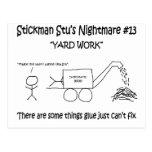 Stickman Stu Nightmare #13 Postcard