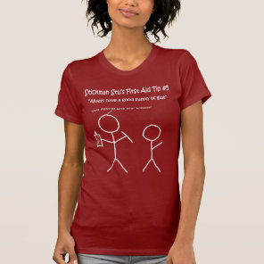 Stickman Stu-Tips T-Shirt