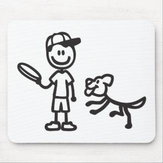 stickmanchuckitblack.png mouse pad