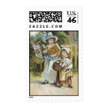 Stickney and Poore Mustard Postage Stamp