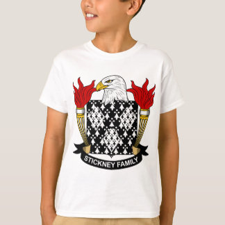 Stickney Family Crest T-Shirt