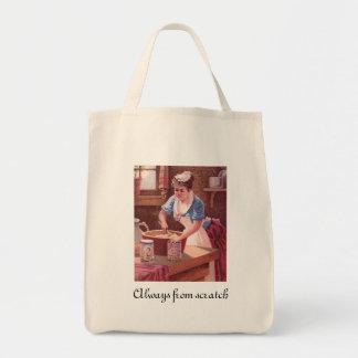 Stickney n Poors Mustards Ad Grocery Tote Bag