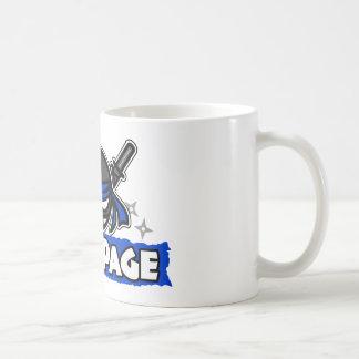 StickPage Ninja Classic White Coffee Mug