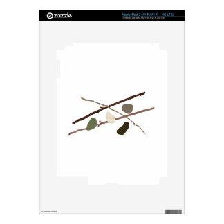 Sticks And Stones iPad 3 Decals