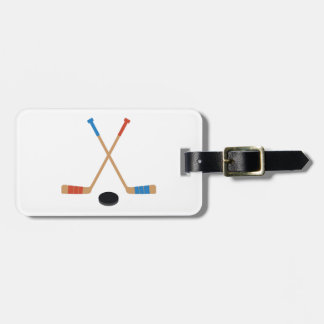 Sticks & Puck Travel Bag Tag