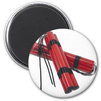 SticksOfDynamite120911 Imán Redondo 5 Cm