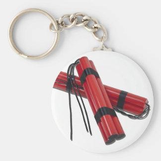 SticksOfDynamite120911 Llavero Redondo Tipo Pin