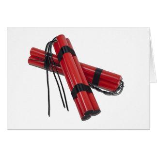 SticksOfDynamite120911 Tarjeta De Felicitación