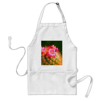 Sticky Beauty Cacti Cactus flower Adult Apron