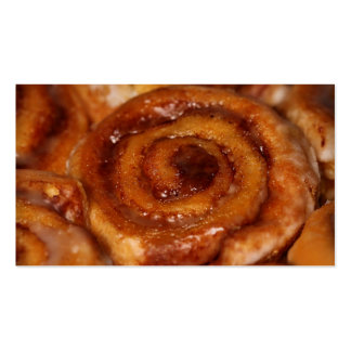 Sticky Buns Baked Goods Bakery Boutique 2 Double-Sided Standard Business Cards (Pack Of 100)