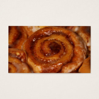 Sticky Buns Baked Goods Bakery Boutique 2 Business Card