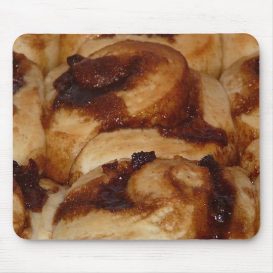Sticky Buns! Cinnamon Rolls Mouse Pad