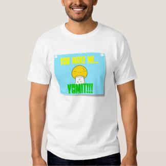 Sticky Note - Vomit T-shirt