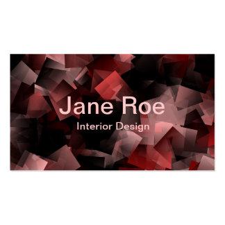 Sticky Notes Rose Business Card