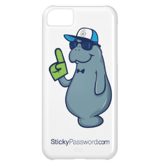 Sticky Password iPhone 5 Case with Mr. Manatee
