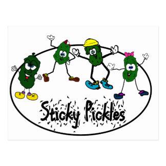 Sticky Pickle Logo Post Card