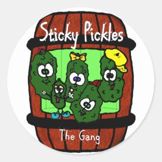 Sticky Pickles Classic Round Sticker