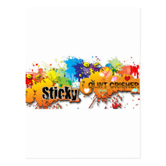 Sticky Postcard