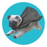 Sticky Pugs Classic Round Sticker