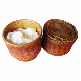 Sticky Rice [Khao Niao] Thai Lao Food Statuette