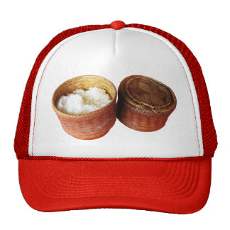 Sticky Rice [Khao Niao] Thai Lao Food Trucker Hat