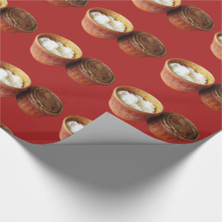 Sticky Rice [Khao Niao] Thai Lao Food Wrapping Paper