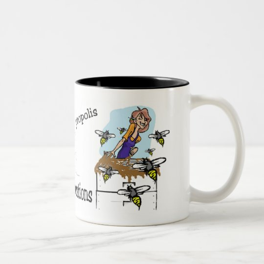 sticky situations Two-Tone coffee mug