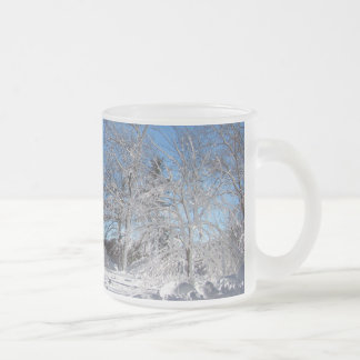 Sticky Snow 106 ~ mug