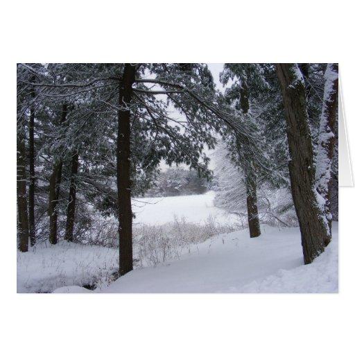 Sticky Snow 132 ~ card