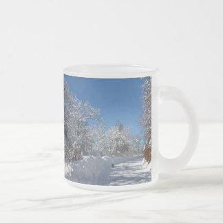 Sticky Snow 28 ~ mug