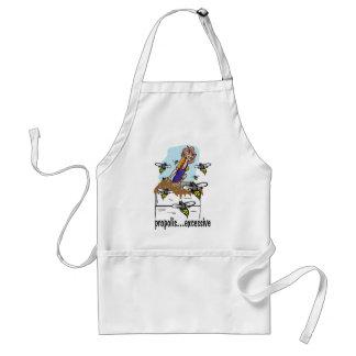 sticky stuff adult apron