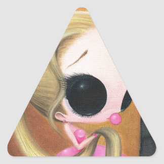 Sticky Sweet Situation Triangle Sticker