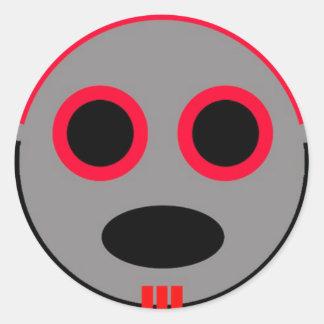 Sticky Tzurs-Ki Clupkitz Classic Round Sticker