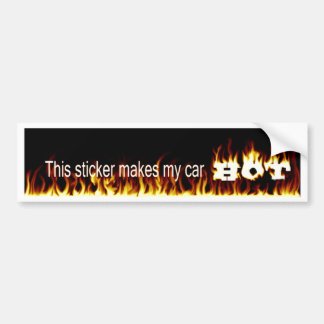 sticler del parachoque del firey pegatina para auto