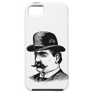 Stiff Bowler Hat iPhone case iPhone 5 Covers