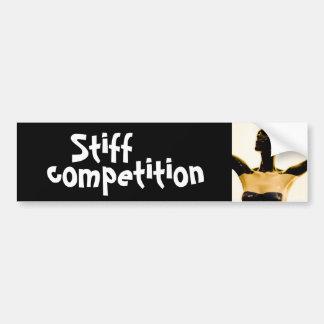 stiff competition bumper sticker