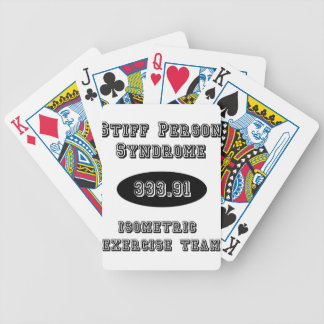 Stiff Person Syndrome Isometric Exercise Team Bicycle Playing Cards