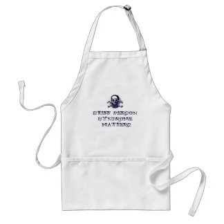 Stiff Person Syndrome Matters Adult Apron