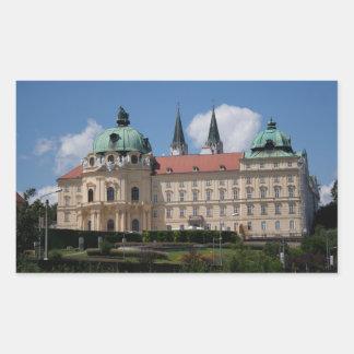 Stift Klosterneuburg, Lower Austria Rectangular Sticker
