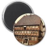 Stiftshaus, Hameln, Hanover, Germany rare Photochr Fridge Magnets