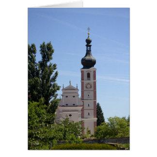 Stiftskirche Geras Greeting Card