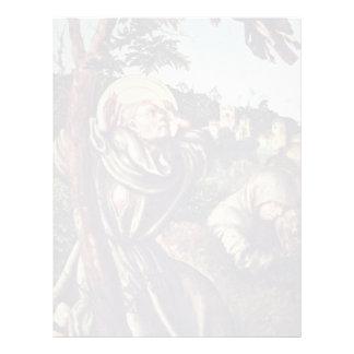 Stigmatization Of St. Francis By Cranach D. Ä. Luc Letterhead