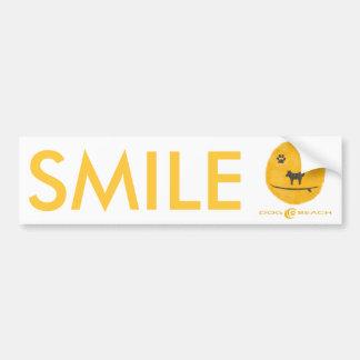 Stiker del parachoque de la sonrisa pegatina para auto