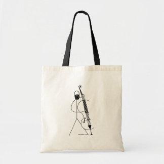Stikman Tote Bag