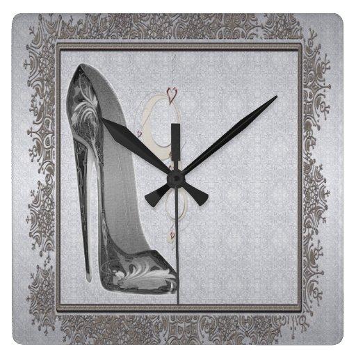 Stiletto and Bangles Clock