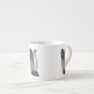 Stiletto and Music Butterfly Art Specialty Mug