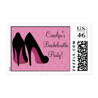 Stiletto Bachelorette Party Postage Stamp