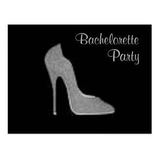 Stiletto Bachelorette Party Postcard